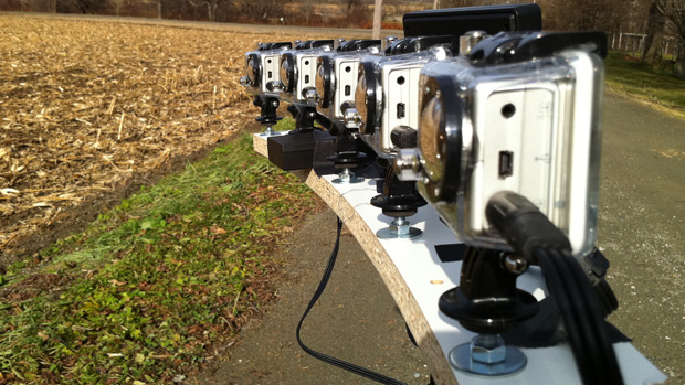 GoPro Hero HD Camera array by Keith Hopkin