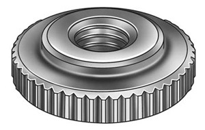 1/4&quot; - 20 Camera Bolt, Nut, Whatever it's called  Check Nut, Knurled, 1/4-20, Steel