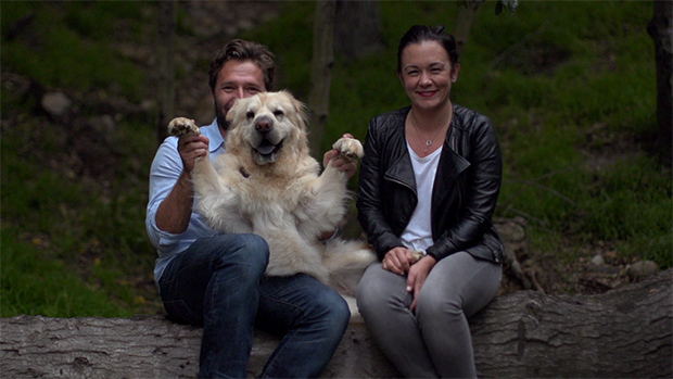 Mark, Kona and Bree from &quot;Savour Every Moment&quot; by Keith Hopkin